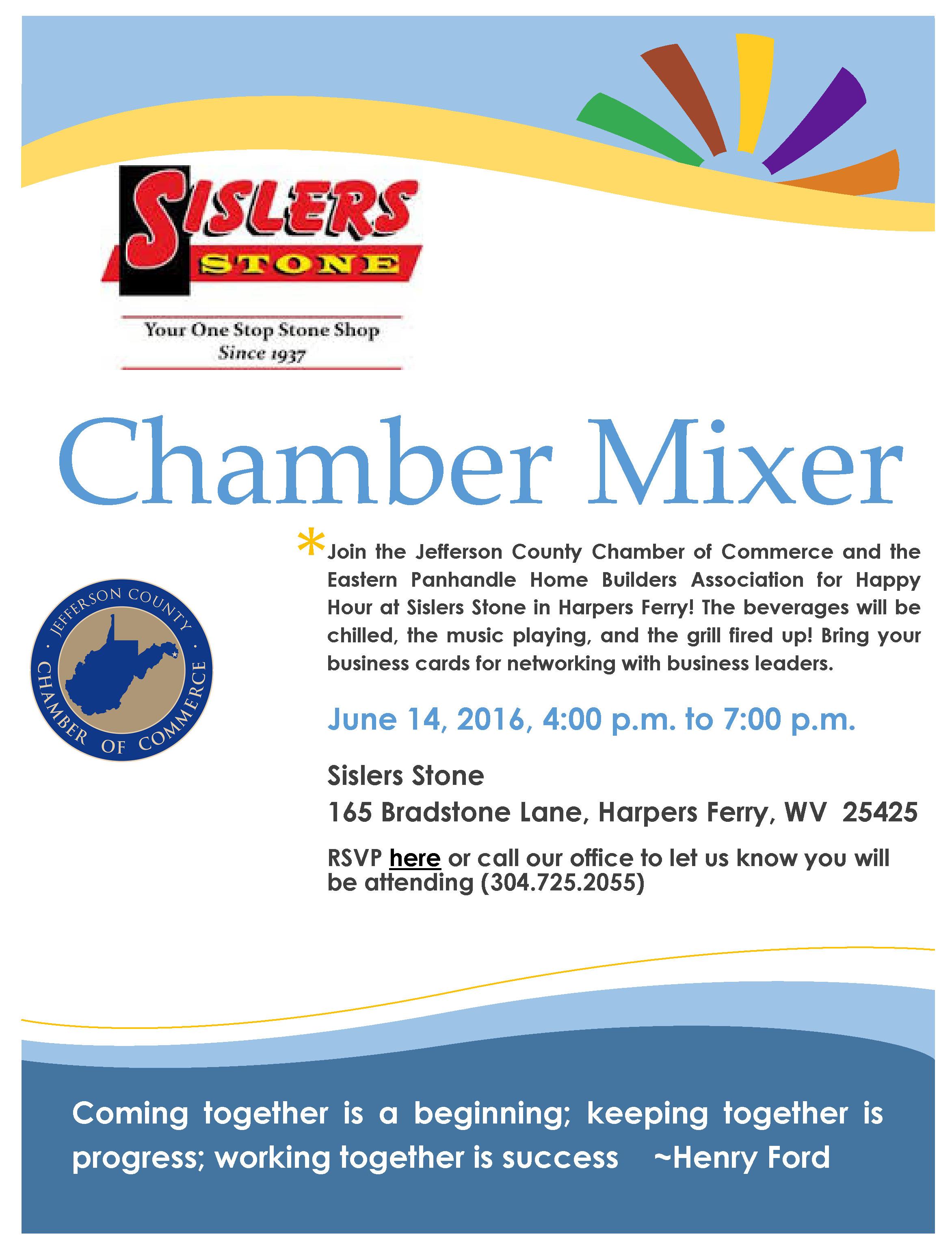 Sislers Stone Mixer 6.14.16